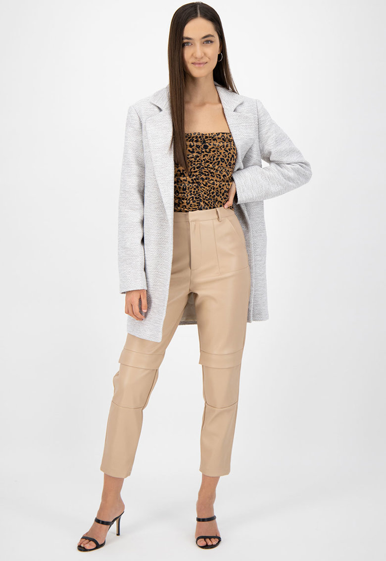 Palton cu buzunare poza fashiondays