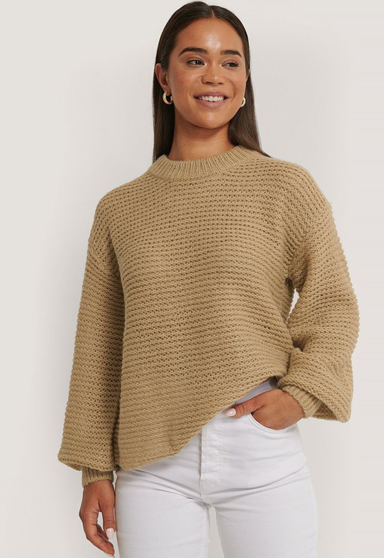 Pulover lejer din amestec de lana