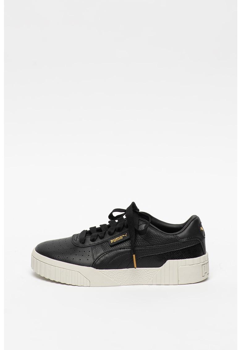 Pantofi sport de piele Cali Emboss