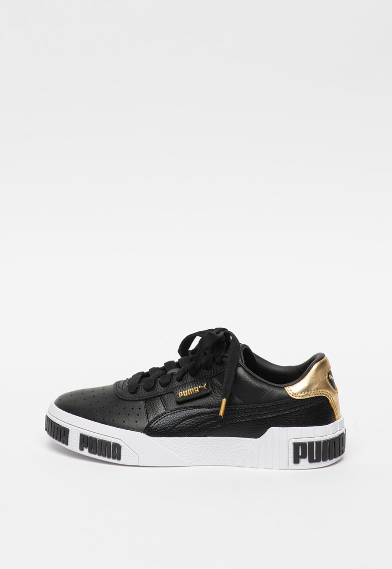 Pantofi sport cu insertii de piele Cali Bold