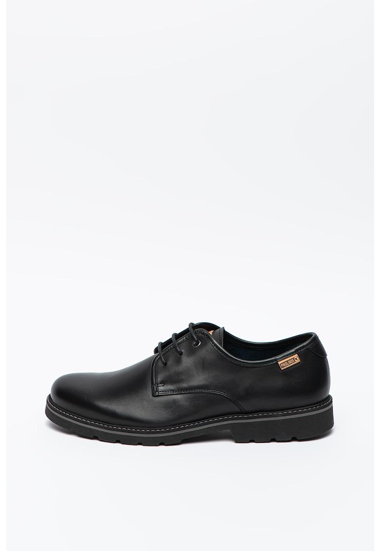 Pantofi derby de piele imagine