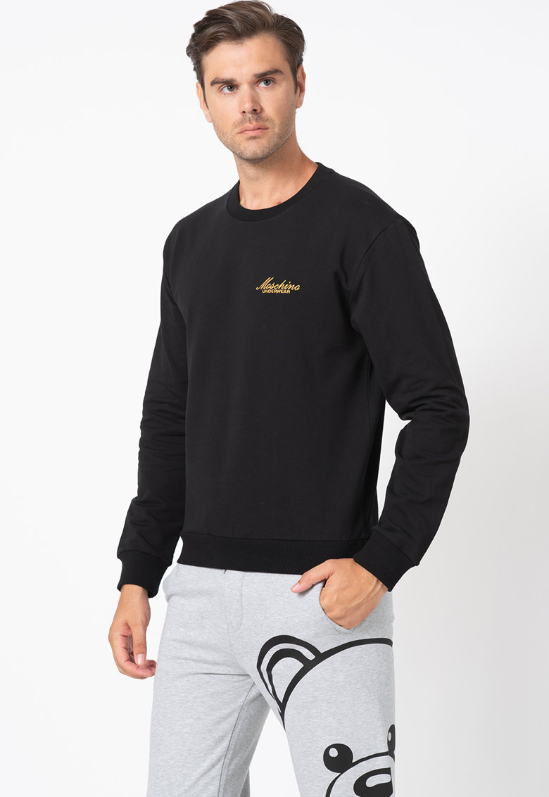 Bluza sport de casa cu logo brodat imagine