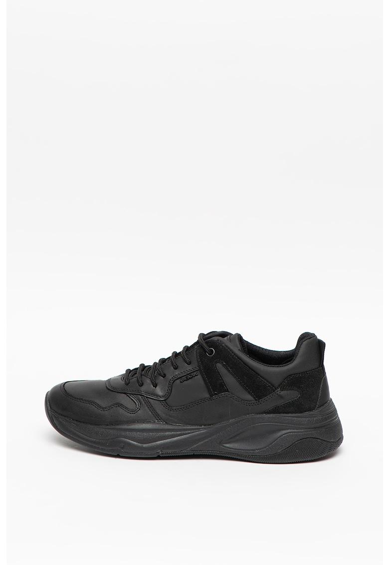 Pantofi sport de piele cu aplicatie logo Carnaby Evo 3