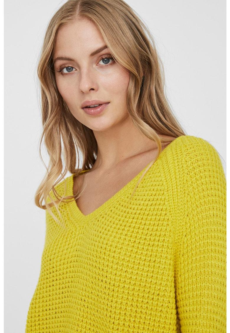 Pulover tricotat gros Leanna