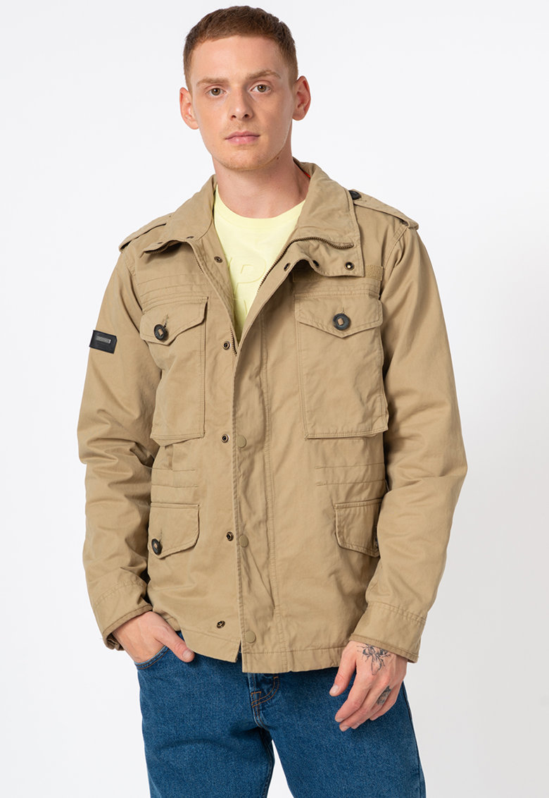 Jacheta cu buzunare cu clapa Field