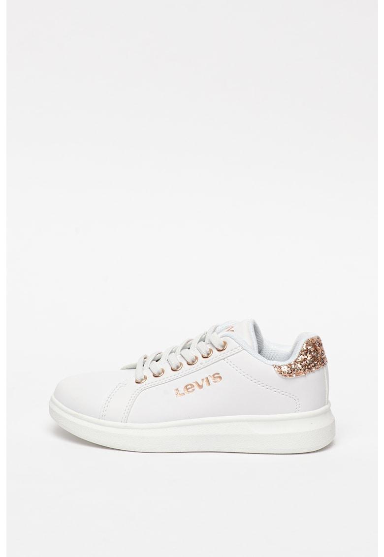 Pantofi sport din piele ecologica cu garnituri stralucitoare Ellis