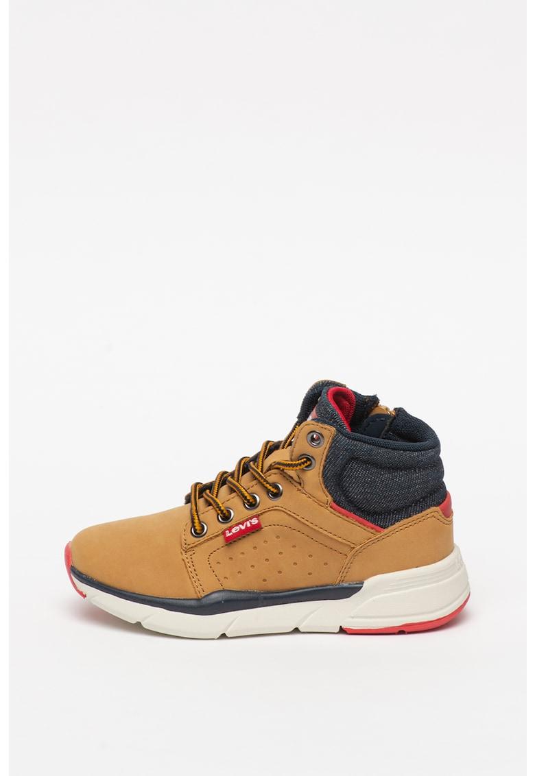 Pantofi sport inalti cu garnituri din denim New Aspen imagine fashiondays.ro