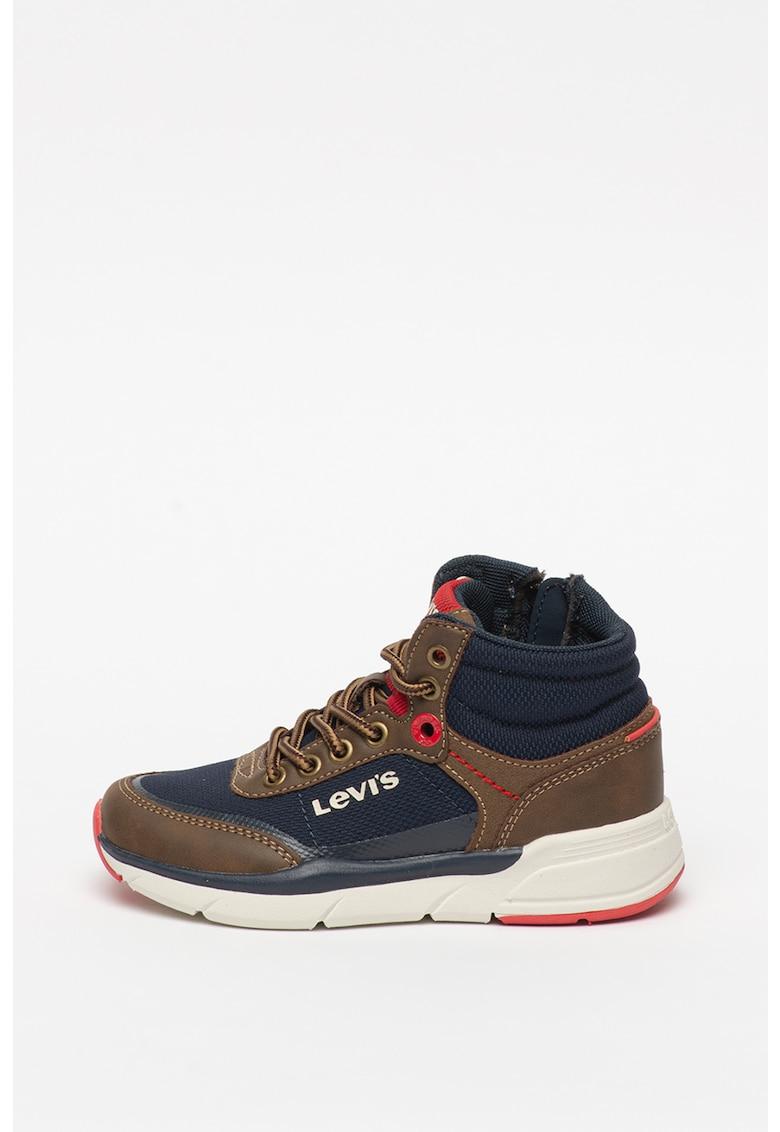 Pantofi sport inalti cu detalii din piele ecologica Parry