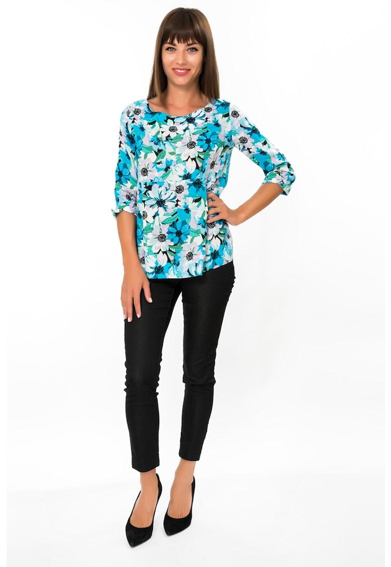 Bluza lejera cu imprimeu floral imagine