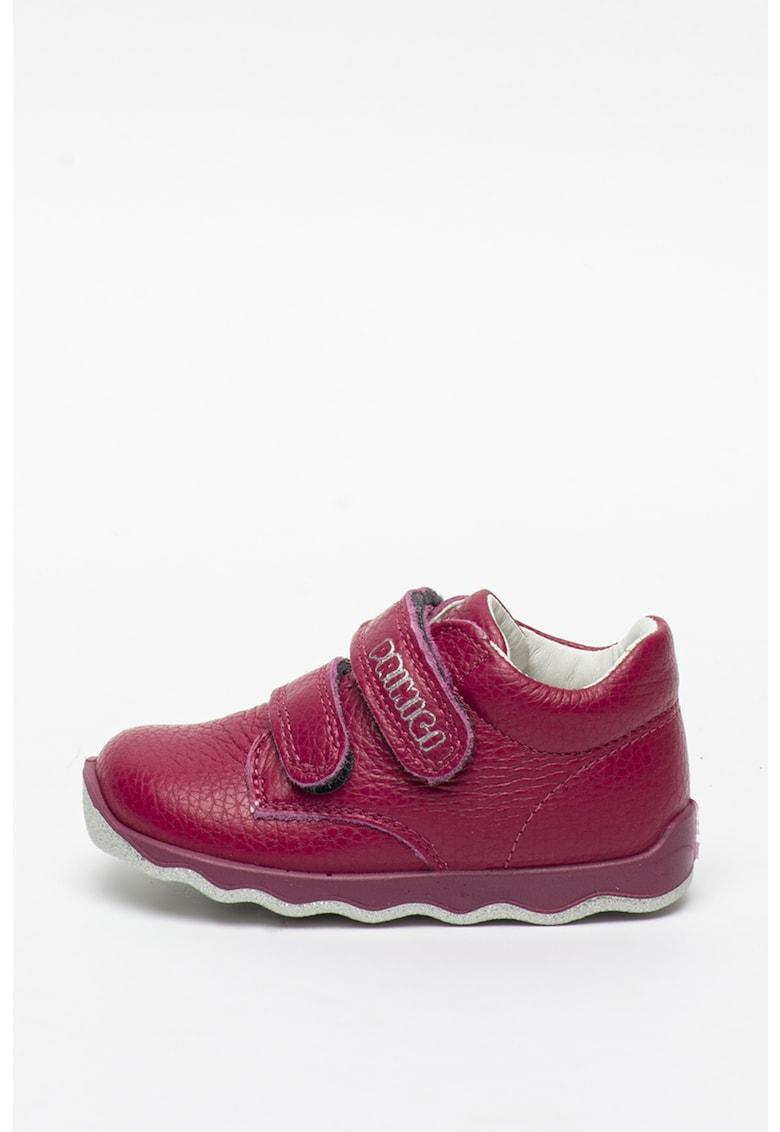 Pantofi sport de piele cu velcro