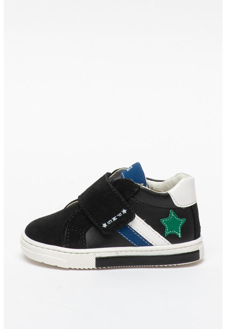 Pantofi sport mid-cut cu banda velcro imagine fashiondays.ro