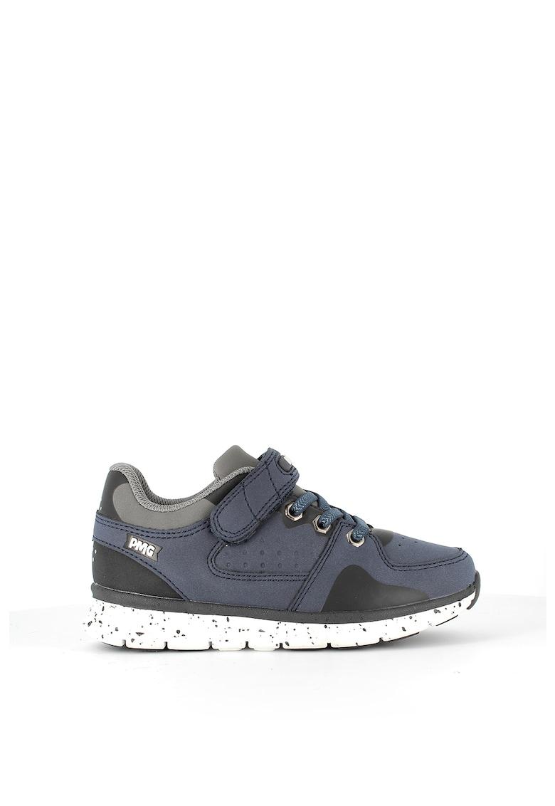 Pantofi sport de piele ecologica - cu velcro imagine promotie