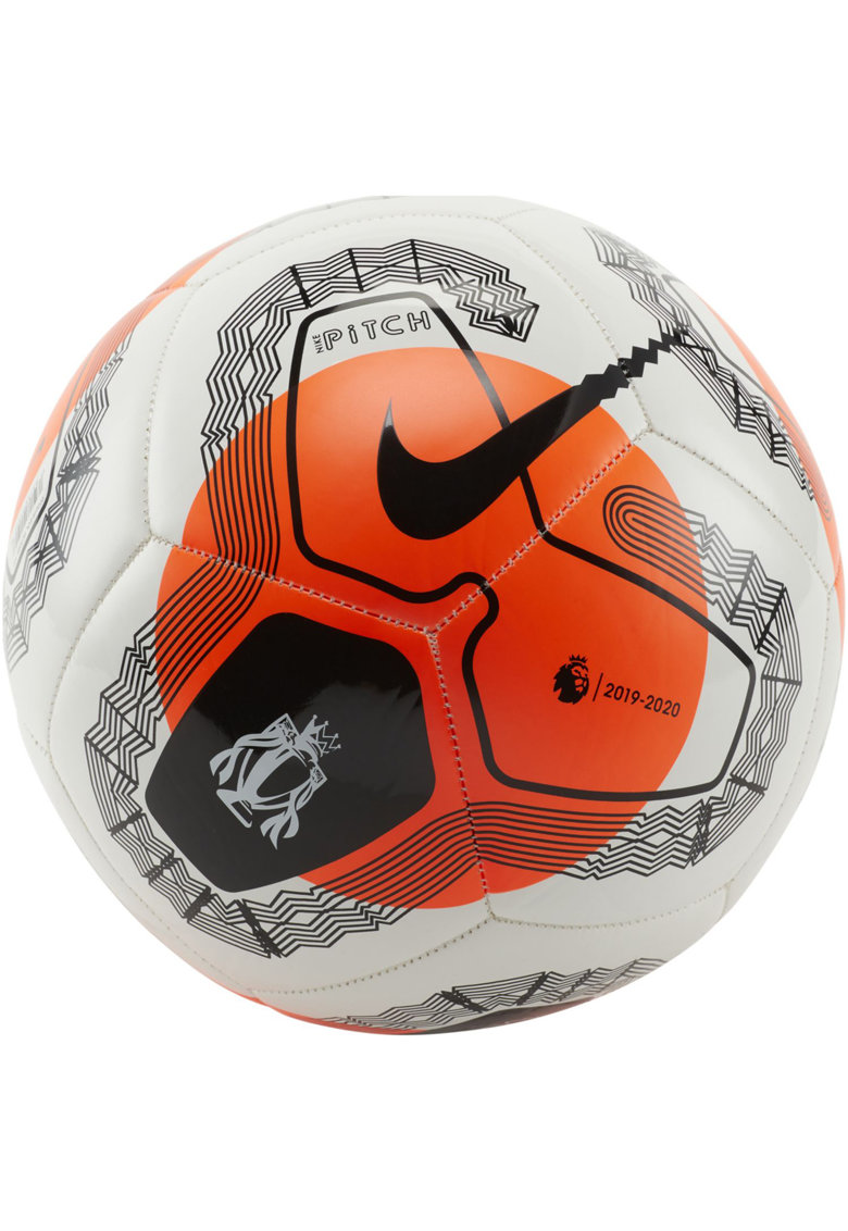 Minge fotbal Pitch Premier League - White/Hyper Crimson/Black -