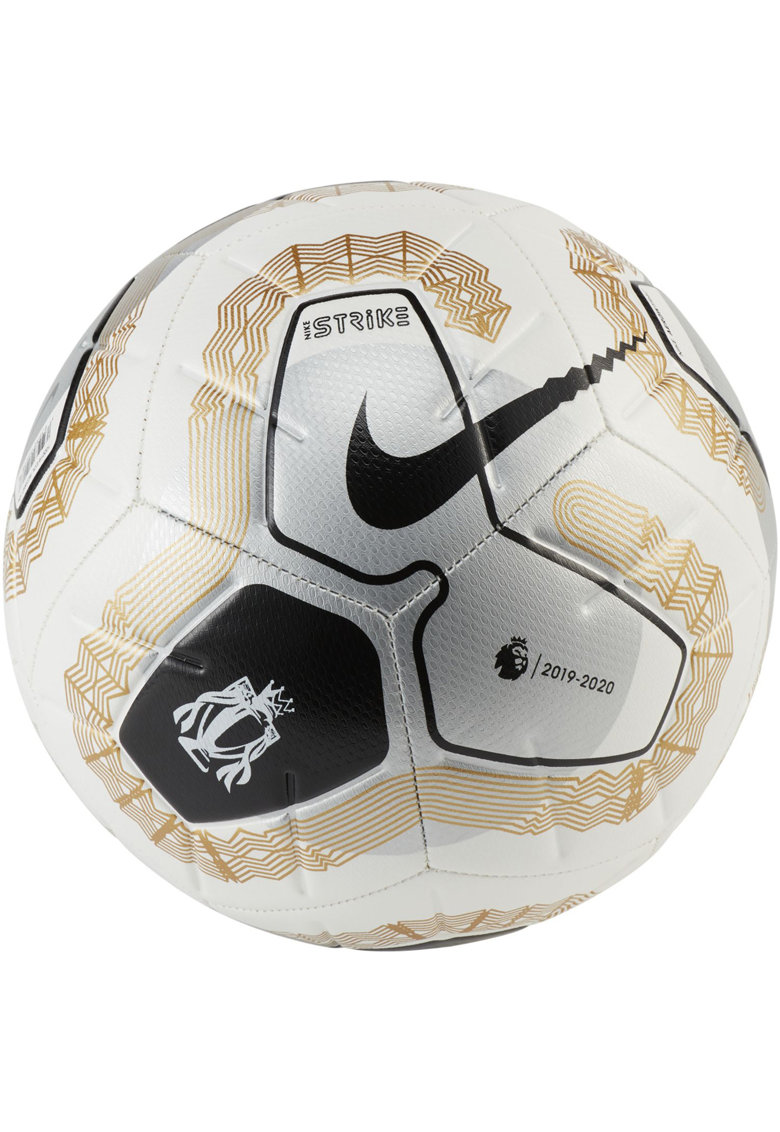 Minge fotbal  Strike - White/Gold/Metallic Silver -