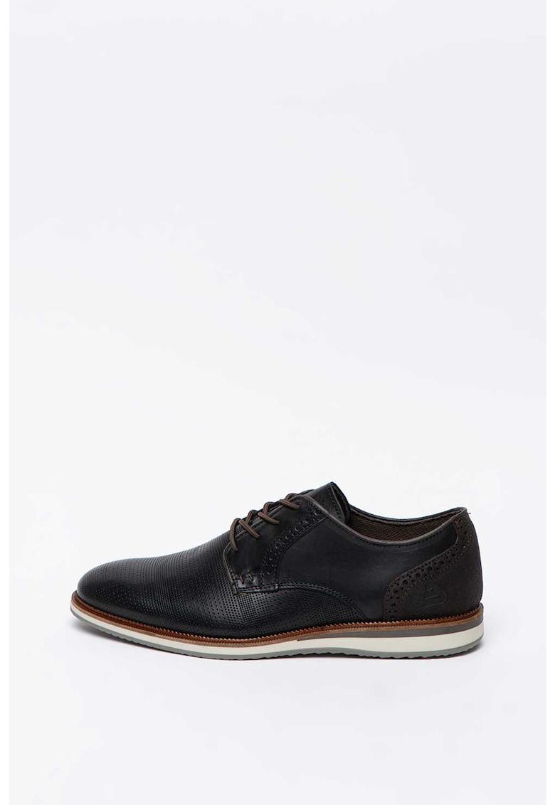 Pantofi brogue de piele imagine
