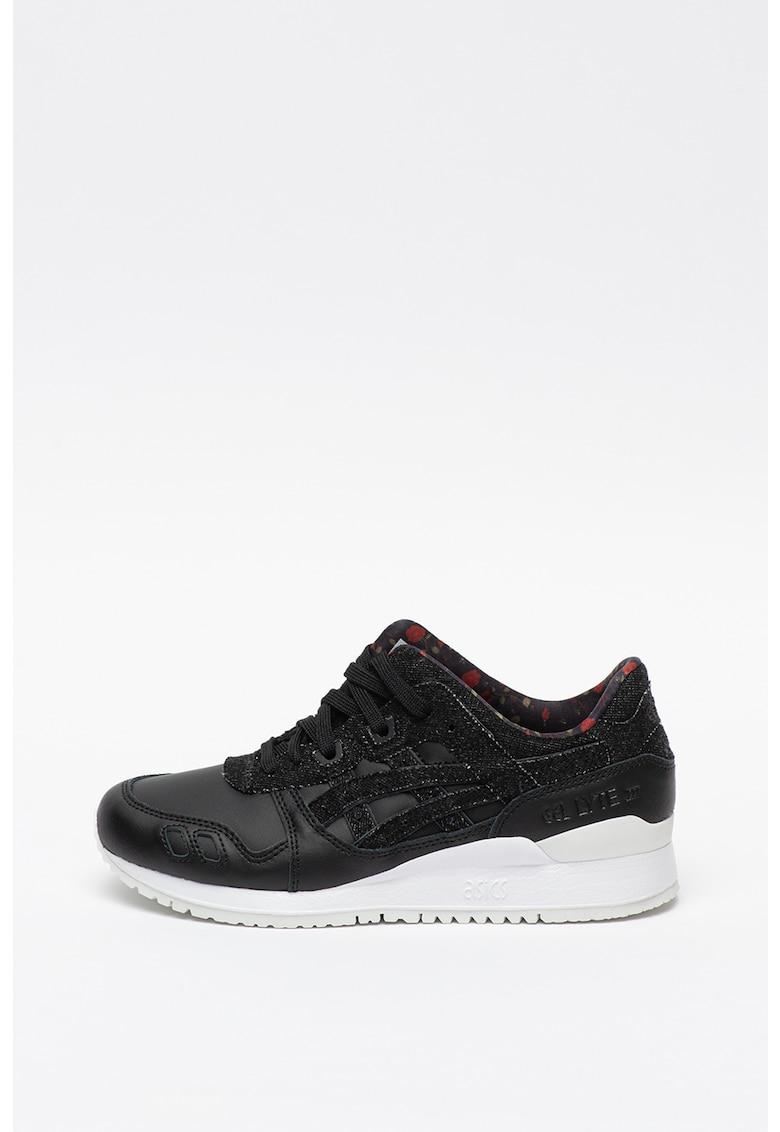 Pantofi sport unisex de piele Gel Lyte III imagine