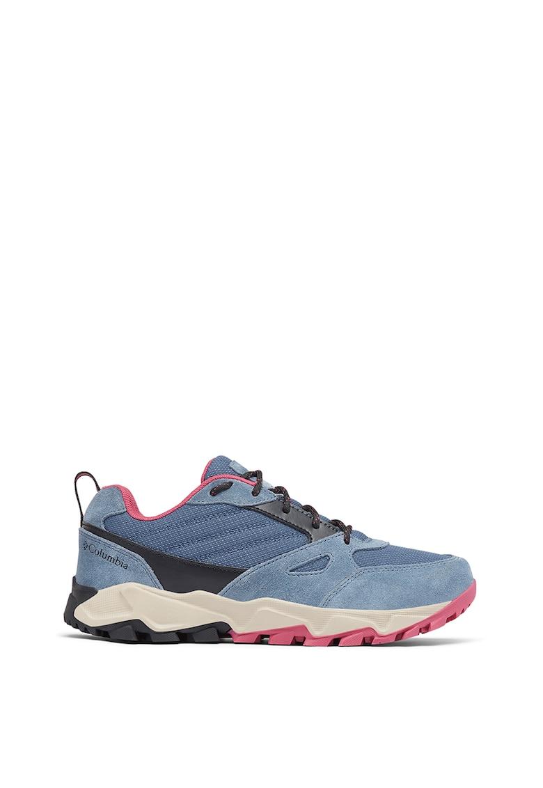 Pantofi cu insertii din piele intoarsa - pentru drumetii Ivo Trail