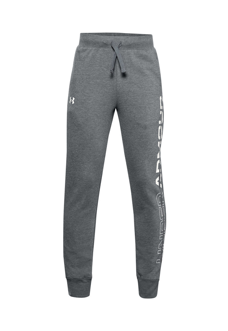 Pantaloni sport de fleece cu imprimeu logo Rival imagine