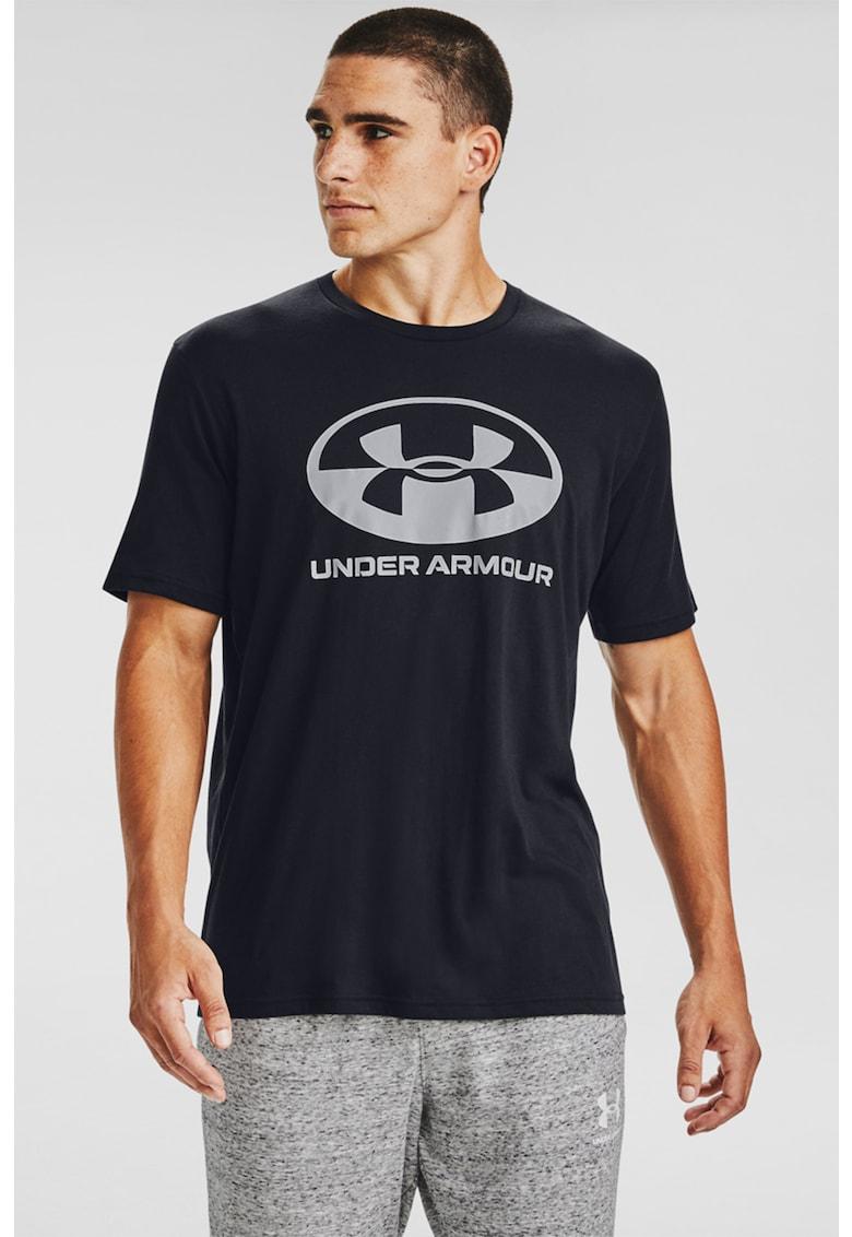 Tricou lejer cu imprimeu logo Locker Tag