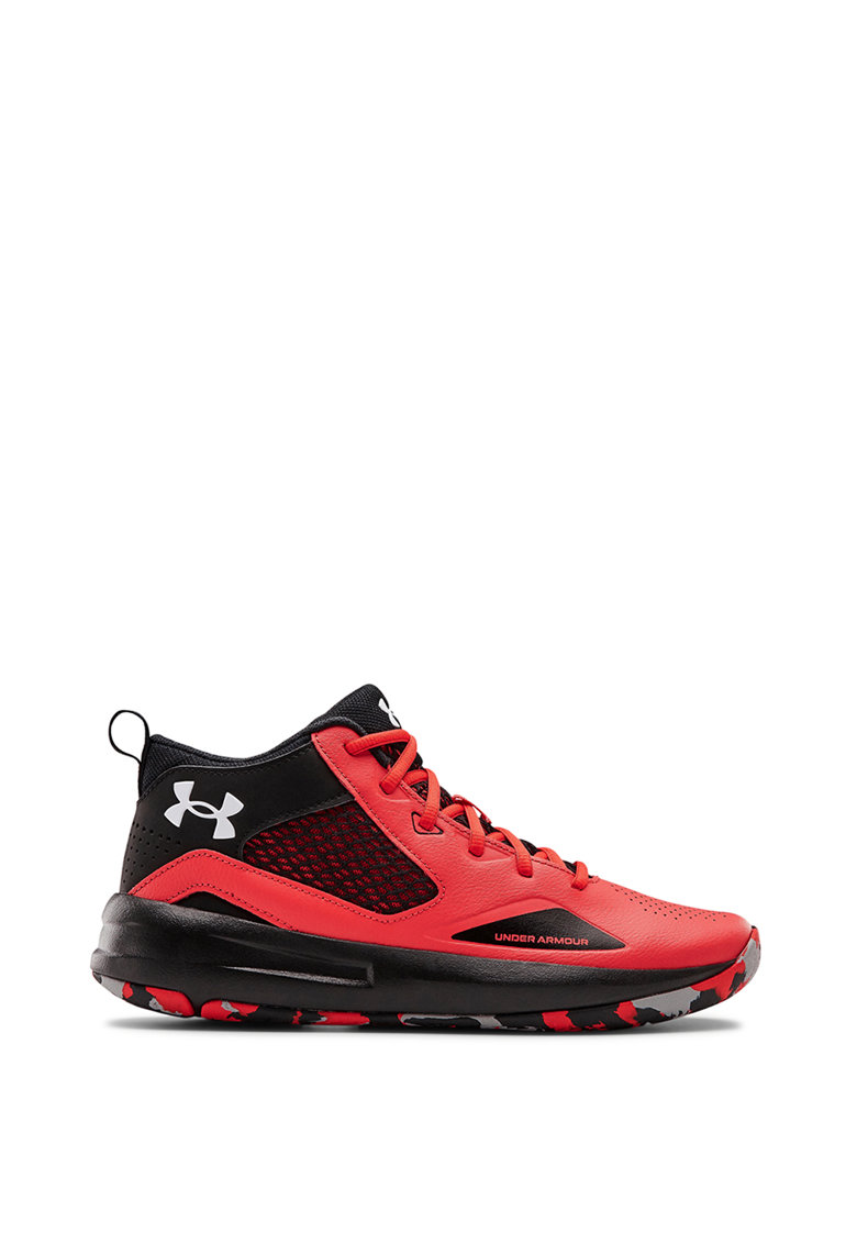 Pantofi mid-high unisex cu insertii din piele - pentru baschet Lockdown 5