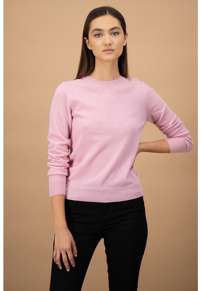 Pulover tricotat fin - de lana virgina imagine
