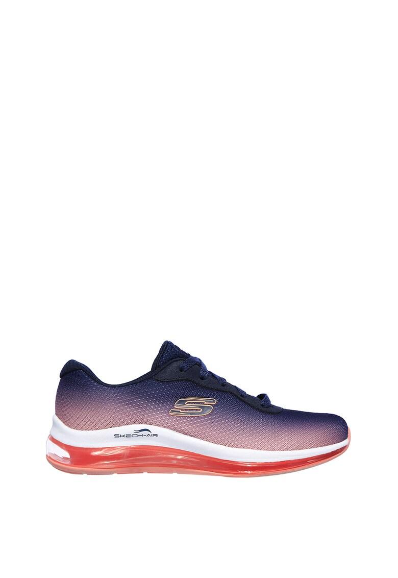 Pantofi sport cu amortizare si aspect in degrade Skech-Air Element 2.0 imagine