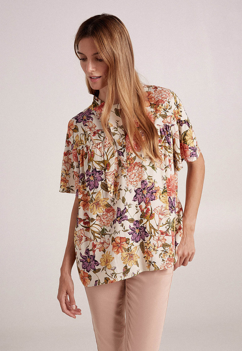 Bluza cu imprimeu floral imagine