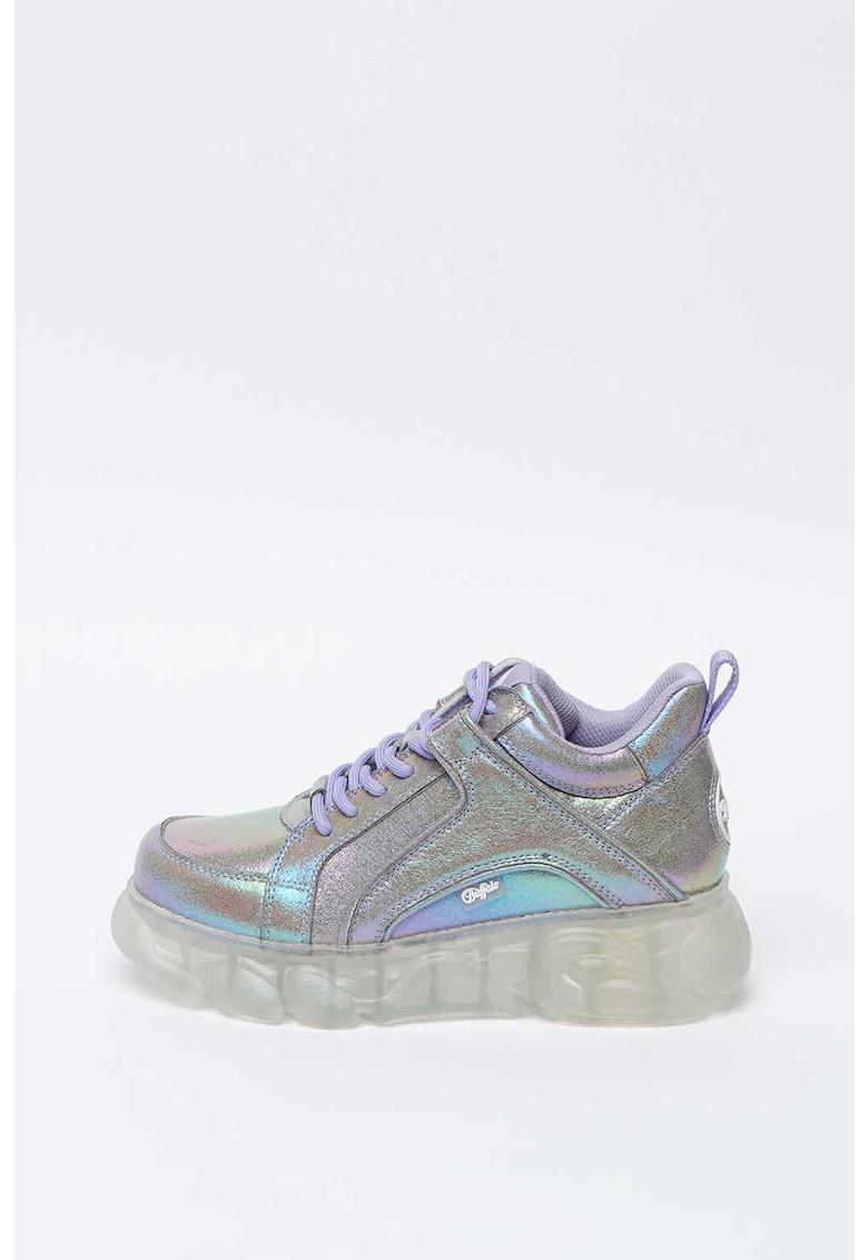 Pantofi sport cu aspect holografic Corin