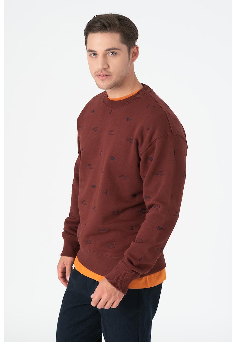 Bluza sport cu model brodat 158480
