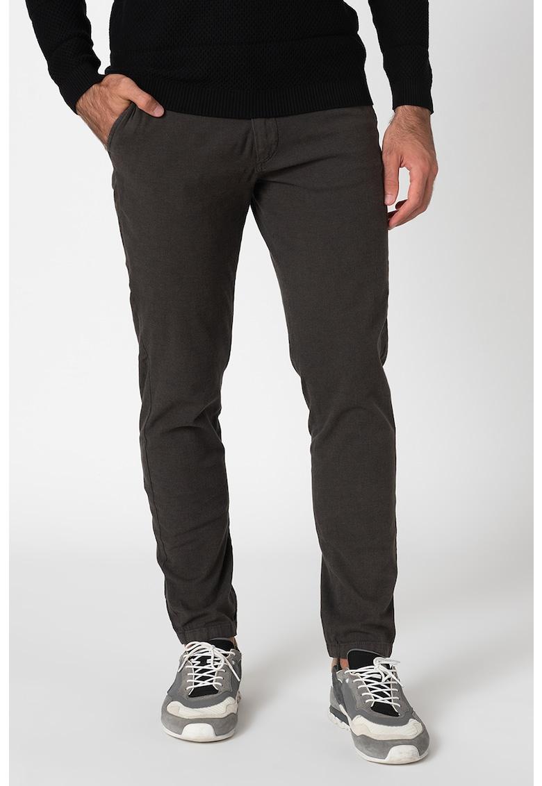 Pantaloni chino slim fit Marco imagine