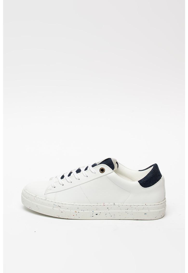 Pantofi sport de piele ecologica si material textil Sense 1