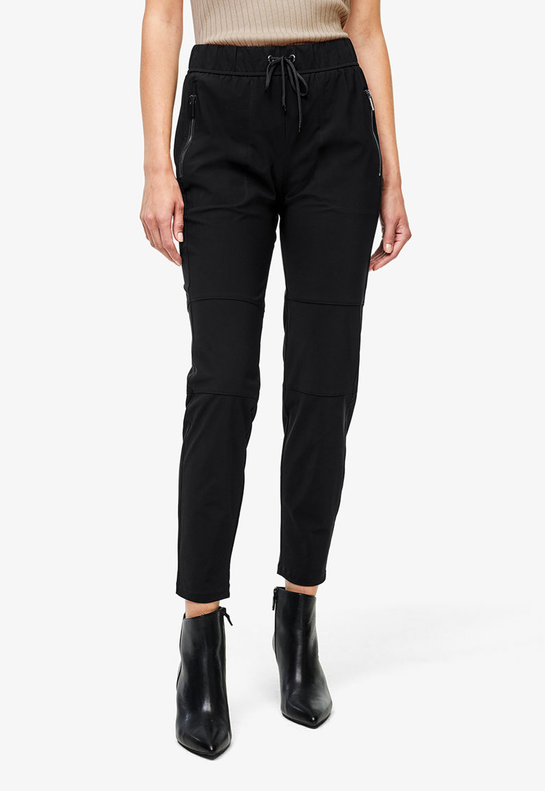 Pantaloni cu snur in talie s.Oliver fashiondays.ro