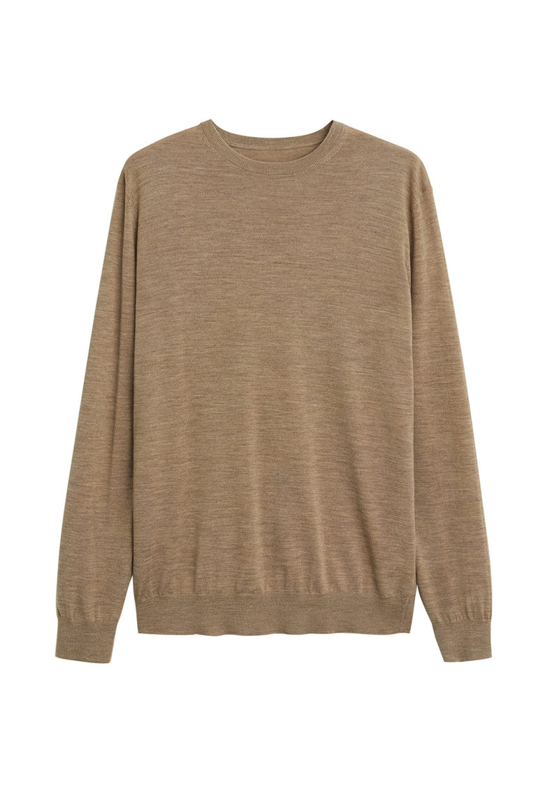 Pulover tricotat fin cu lana Merinos Willy 1