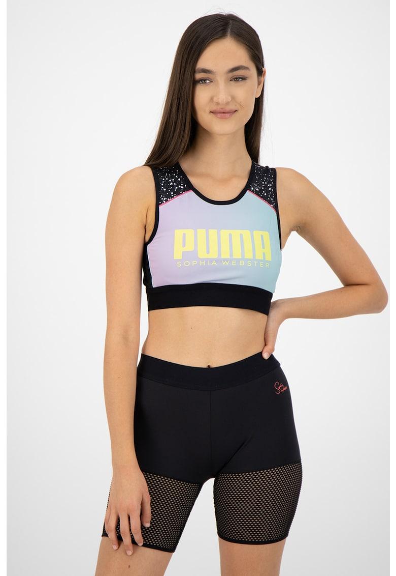 Top crop reversibil pentru fitness imagine fashiondays.ro