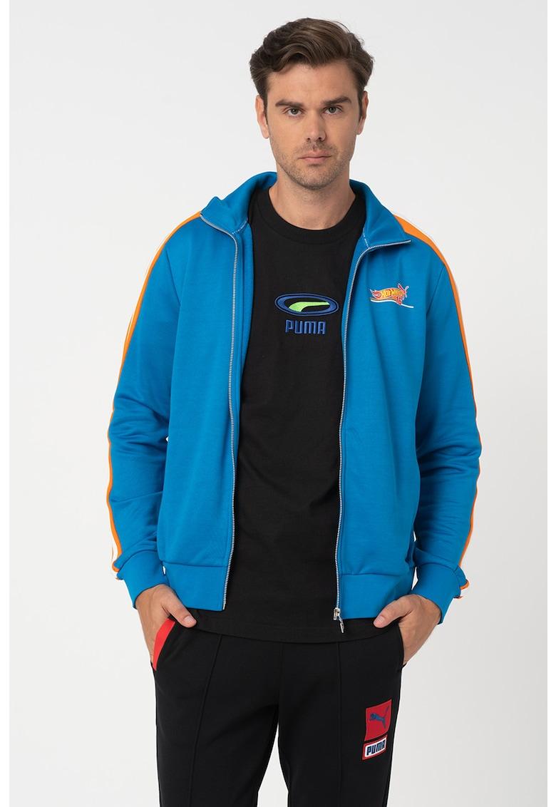Bluza sport regular fit - cu fermoar T7 imagine fashiondays.ro