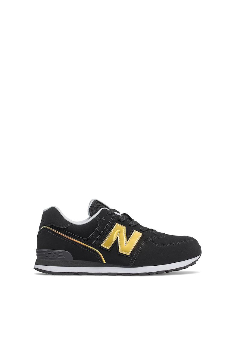 Pantofi sport de piele intoarsa ecologica 574