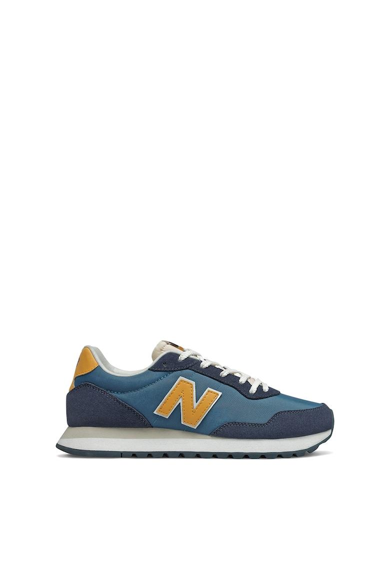 Pantofi sport de plasa si piele intoarsa 527 imagine