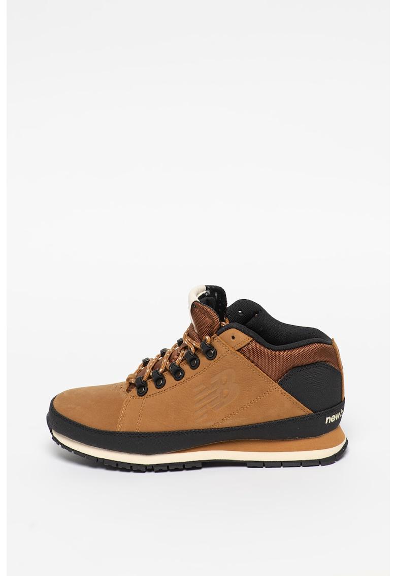 Pantofi sport din piele si material textil 754 Mid imagine
