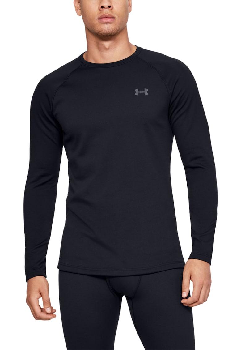 Bluza cu decolteu la baza gatului - pentru fitness Base 3.0
