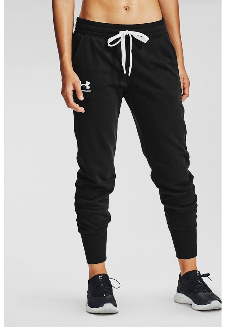 Pantaloni sport de fleece - cu snur in talie Rival poza fashiondays