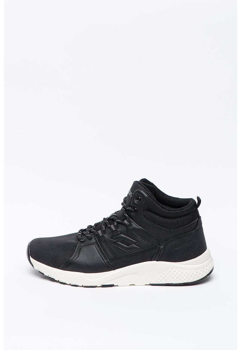 Pantofi sport mid-high cu garnituri de piele ecologica Nexus poza fashiondays