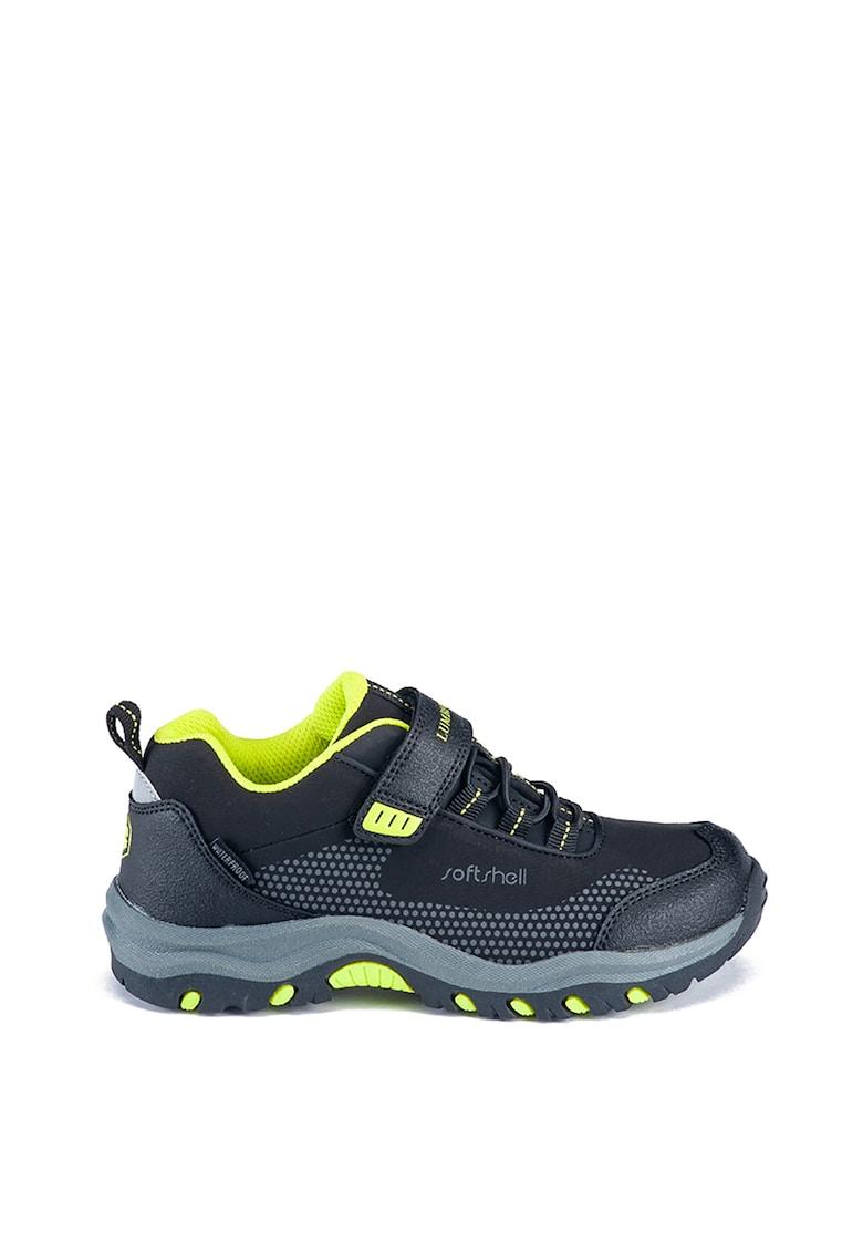Pantofi sport low cut cu segment cu velcro