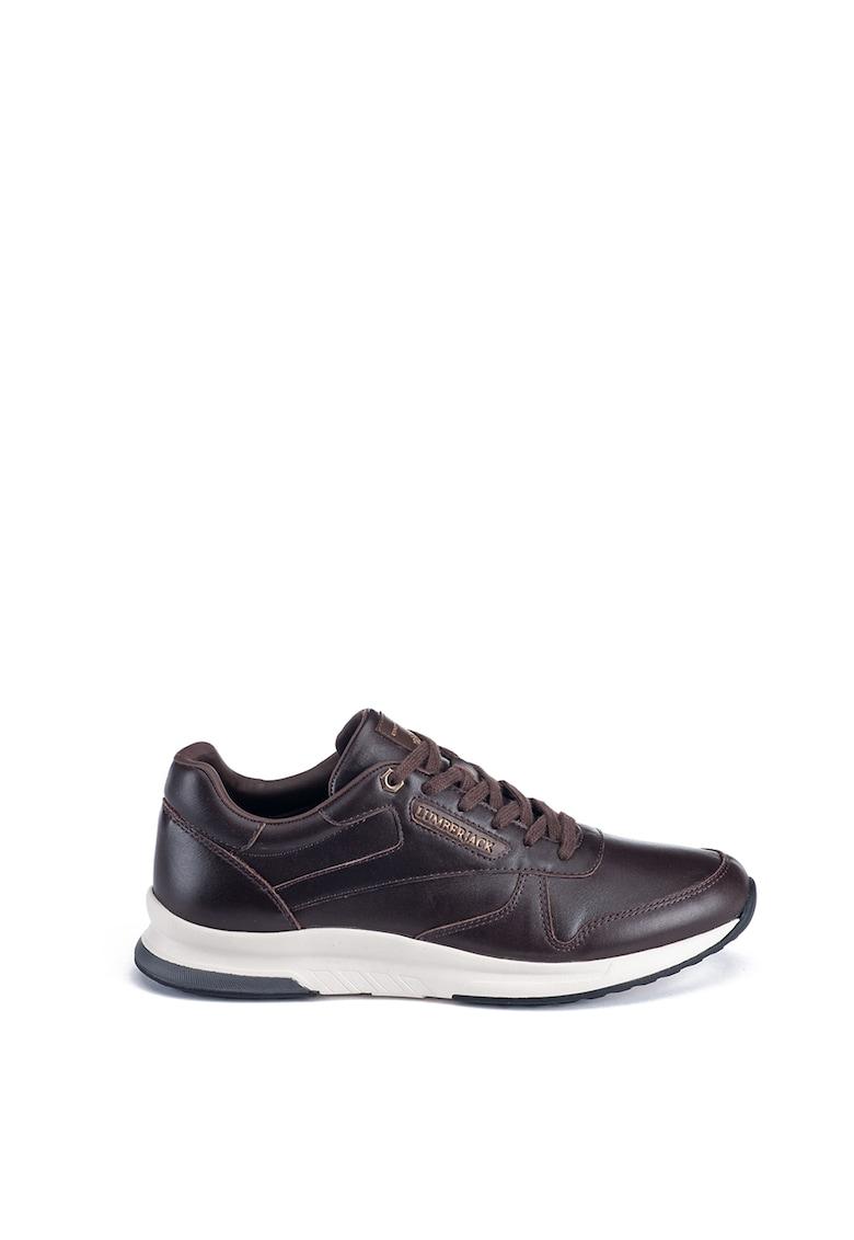 Pantofi sport din piele cu logo imagine