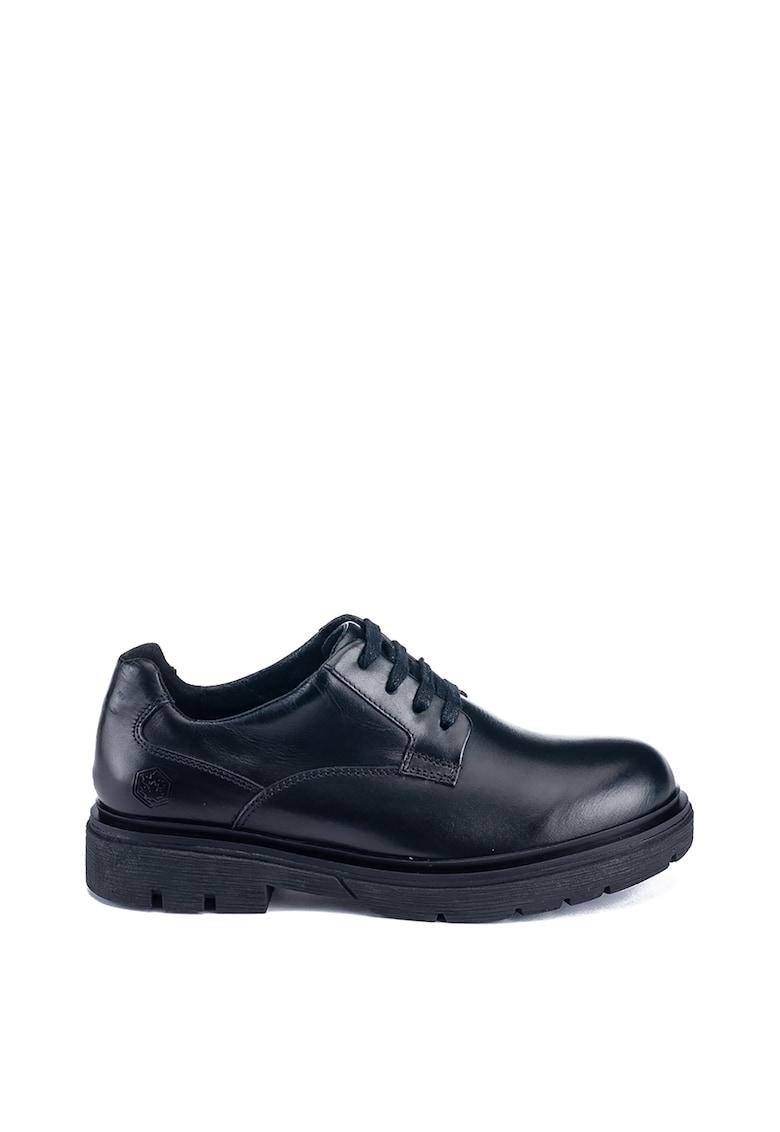 Pantofi derby din piele