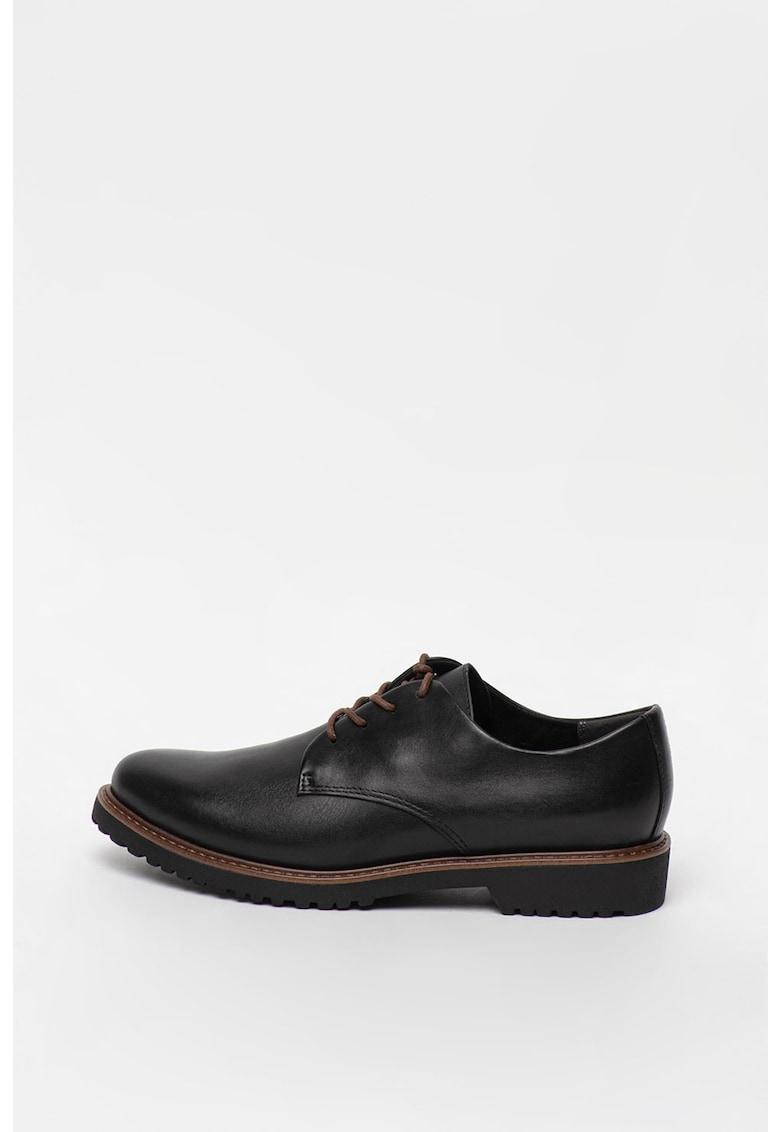 Pantofi derby de piele