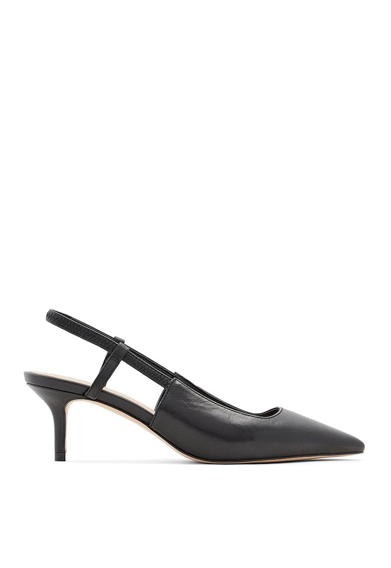 Pantofi slingback din piele Melica