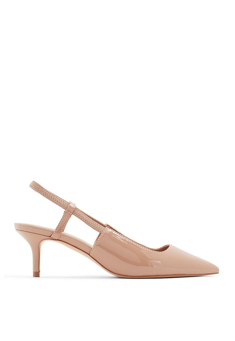Pantofi slingback din piele ecologica Melica