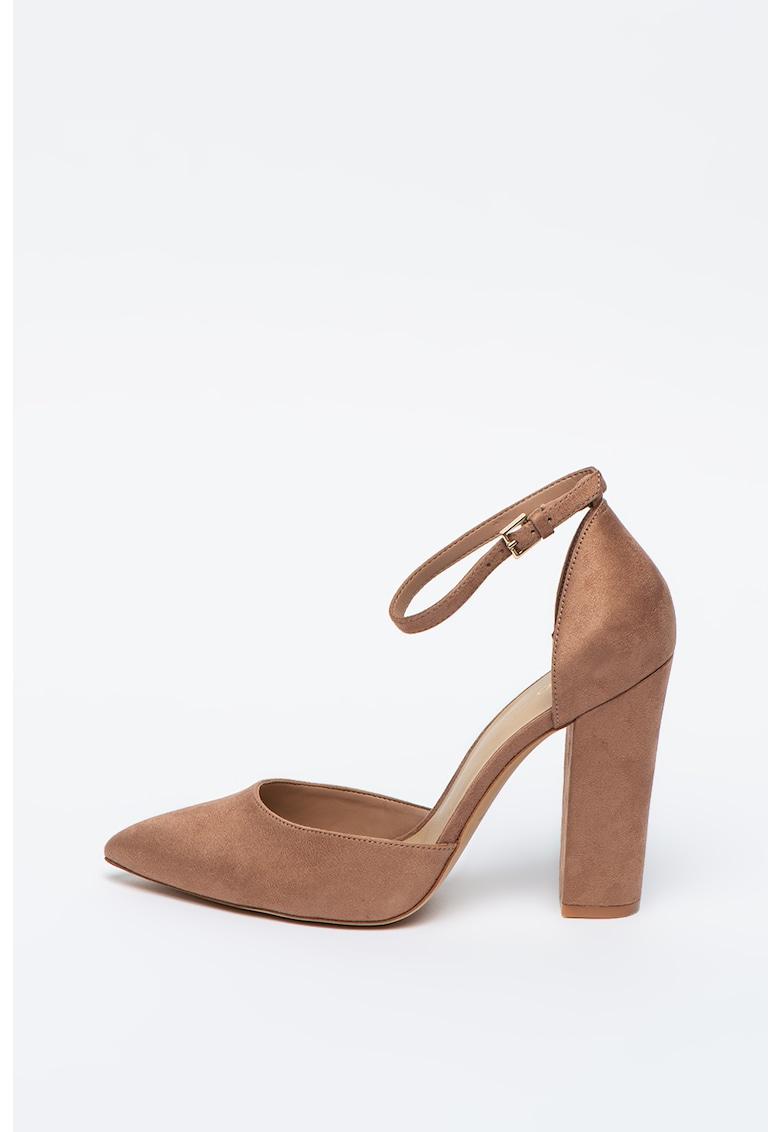 Pantofi de piele intoarsa sintetica Nicholes