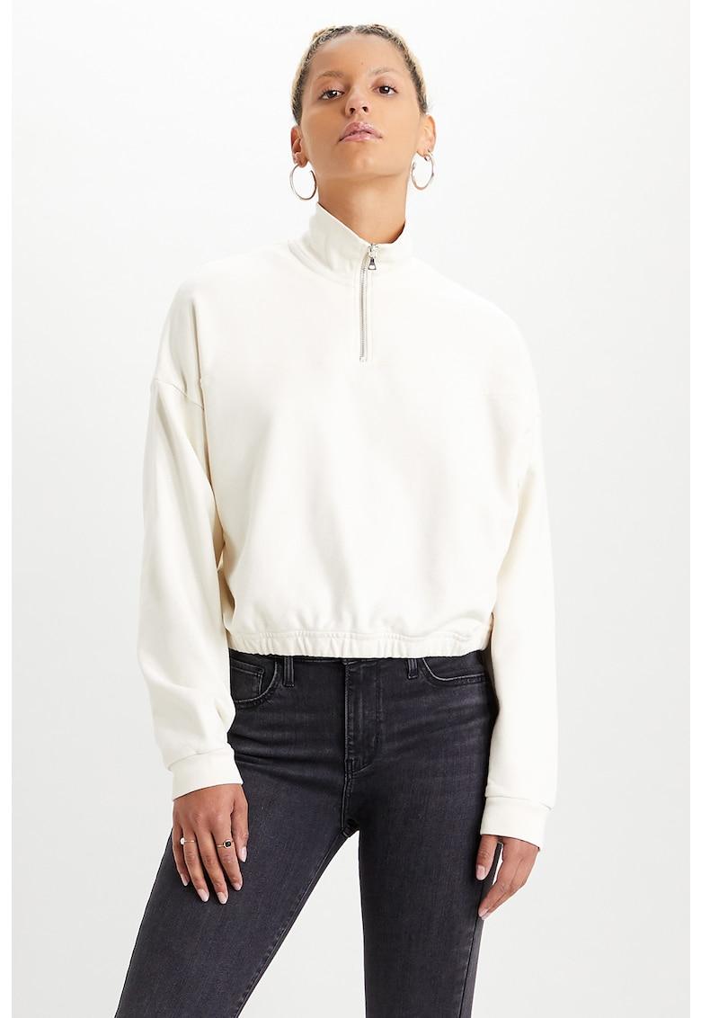 Bluza sport cu fermoar scurt Pom Quarter