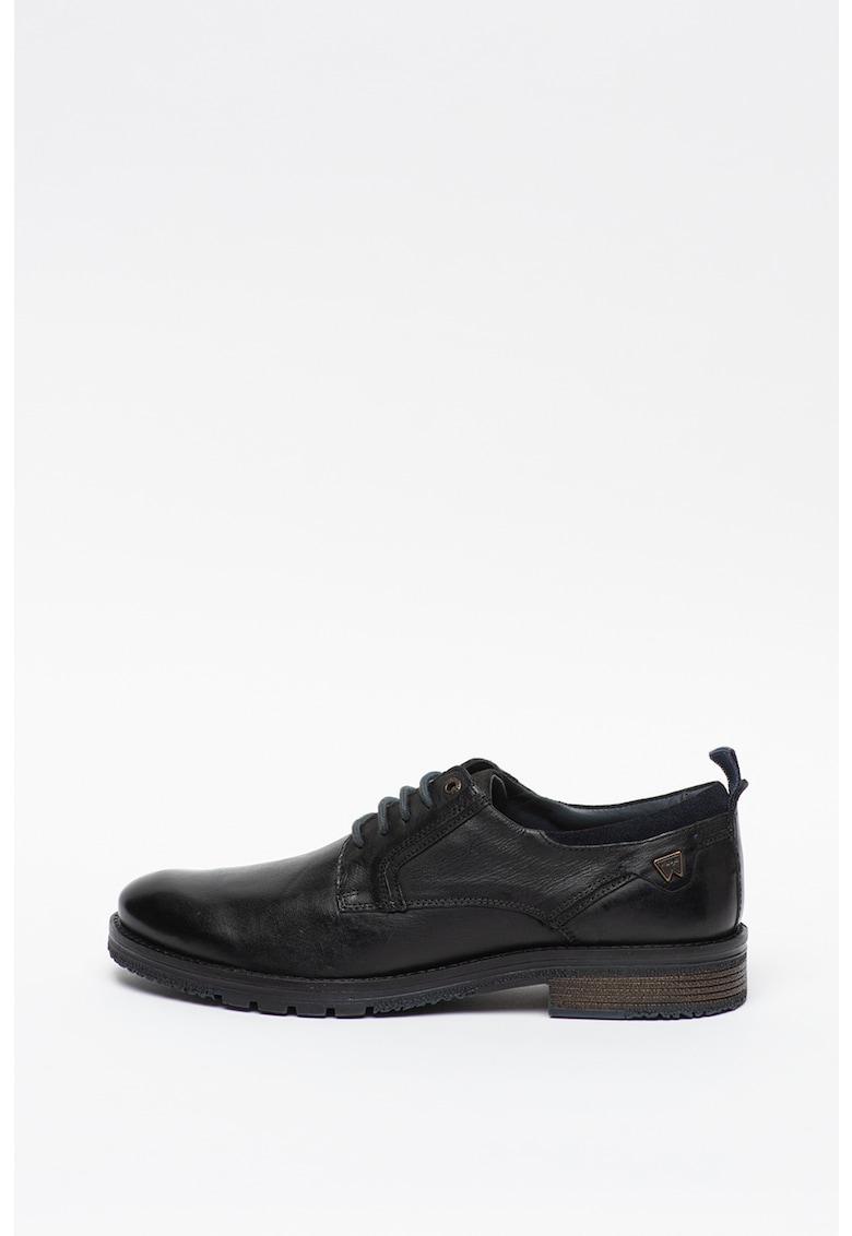 Pantofi derby de piele Boogie